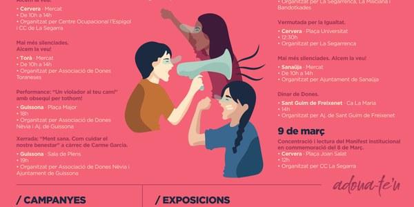Actes en motiu del dia internacional de les dones